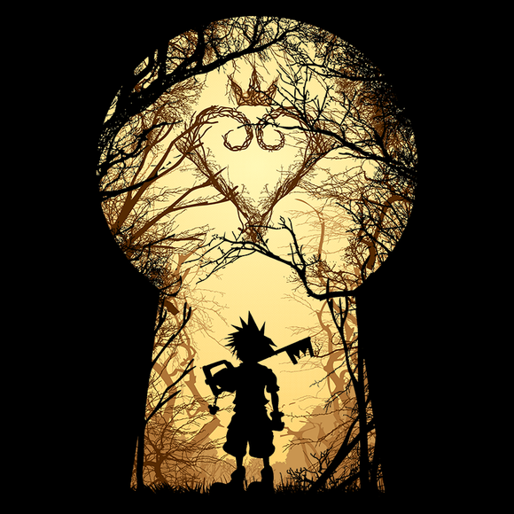 My Kingdom - Retro and Pixel Video Game T-shirts - Kingdom Hearts, Sora, Keyblade, Heartless, RPG, Action RPG, Frozen, Pirates, PS4, Playstation, Kingdom Hearts 3, Toy Story, Nerd, Geek, Cool, Level Up, Japan, Japanese, Fantasy, Donnie, Videogame, Games, Gamer, Best, Women, Men, T-Shirt, Tee, Slim Fit, Tank Top, Long Sleeve