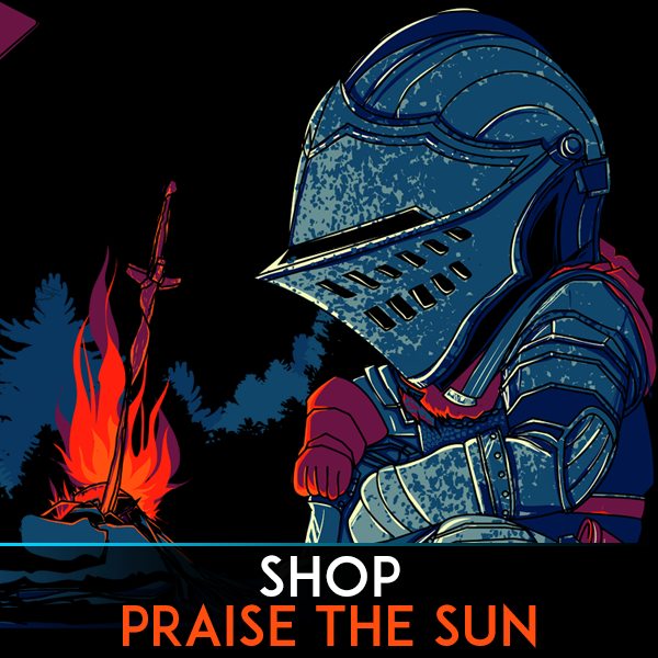 Pixel and Retro Gaming T-shirts. Shop High Quality Video Game Tees. Dark Souls, Praise The Sun, Bloodbourne, RPG, Save File, Bonfire, Dark Souls, The Hunter, You Died, Demon Souls, Knight, Sword, Game Over, Fire, Hard, Difficult, PS4, PC, Dark Souls 2, 3, Action, Bosses, Chalice, Dungeons