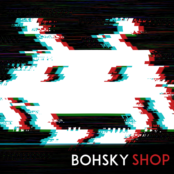 Pixel and Retro Gaming T-shirts. Shop High Quality Video Game Tees. Space Invaders, Super Mario, Pacman, Glitch Invader, Punisher Invader, pixel and retro designs. Bohsky