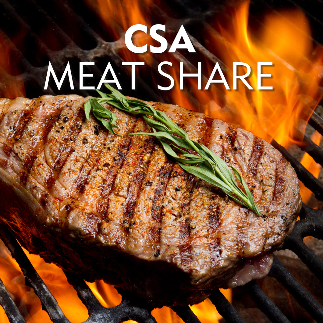 CSA Meat Share/Online Orders Now Available!