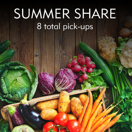 Summer Produce CSA Share/Online Orders Now Available!