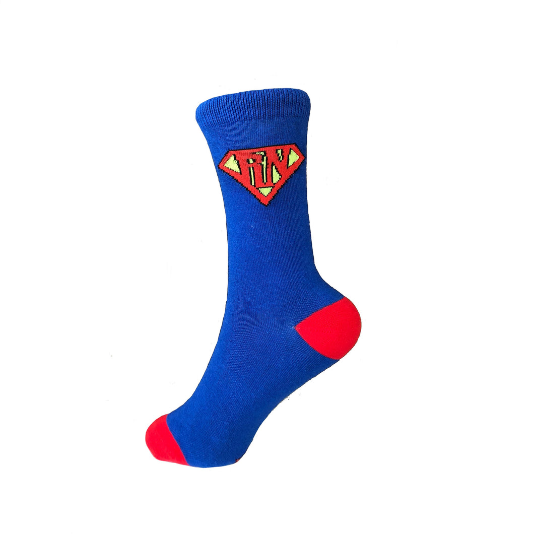 Nurseology - Super Nurse Men's Socks