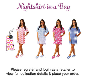Nightshirt in a bag assorted