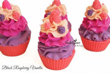 Indulgence by SV.Soaps - Black Raspberry Vanilla Soap Cupcake