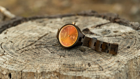 Wood watch by Svenn - Rouge series