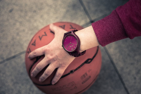 minimalist wood watch