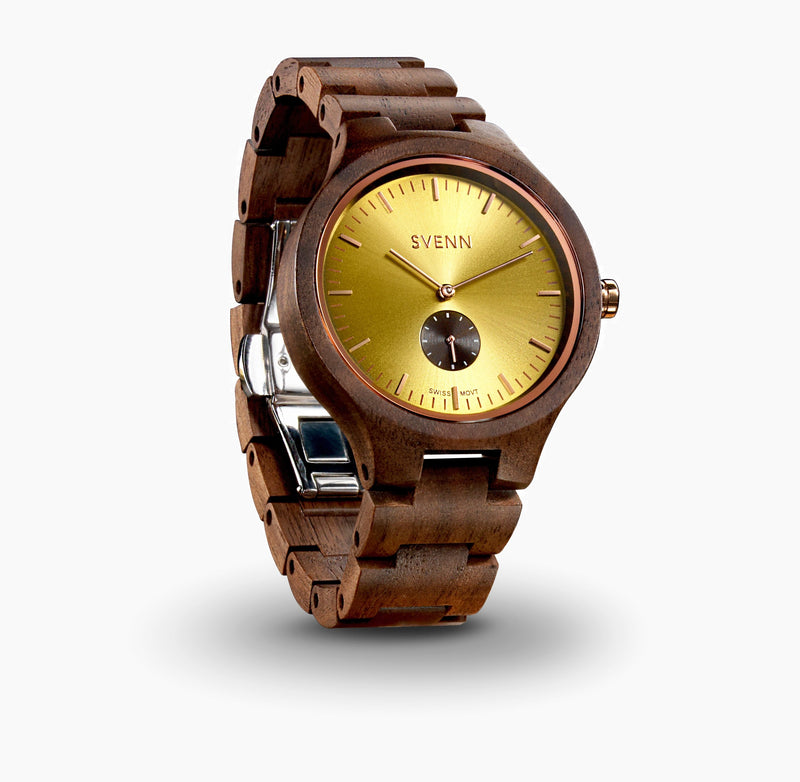 Sophisticated Wood Watch