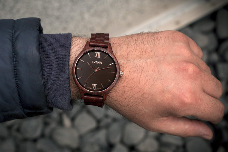 Dark Brown Watch for Men