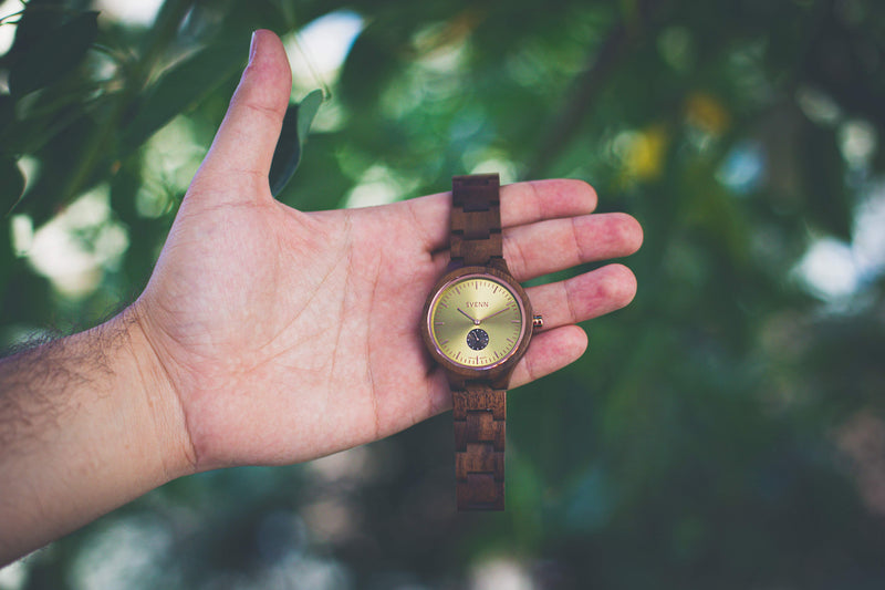 Sophisticated Wood Wrist Watches
