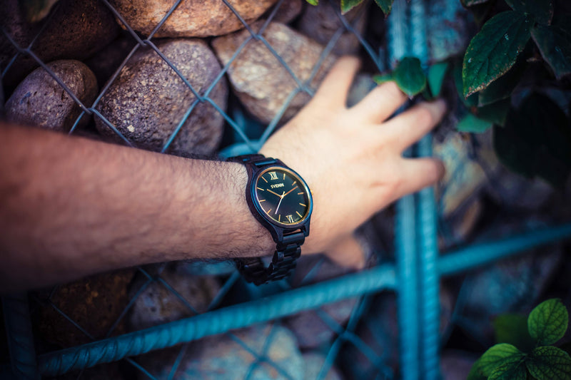 Black Wood Watches
