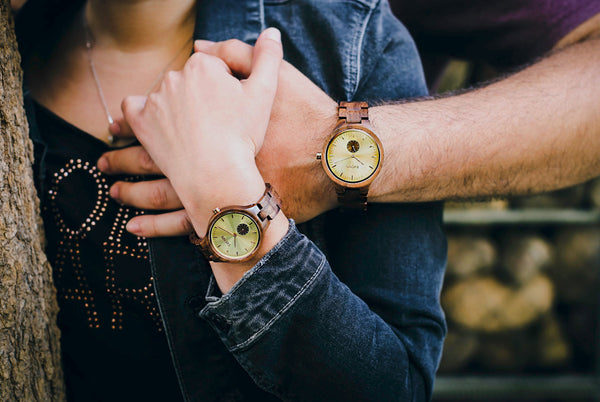 COUPLES WATCH SET