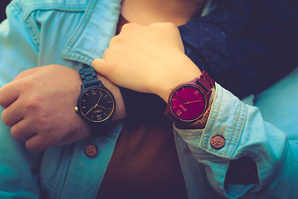 wooden watches for couples