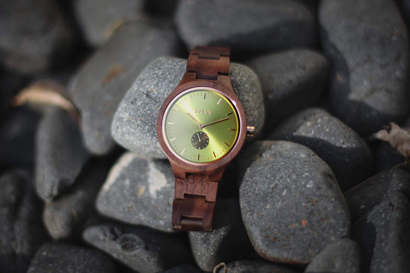 Sophisticated Wooden Watch