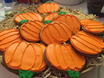 FALL PUMPKIN DELUXE COOKIES