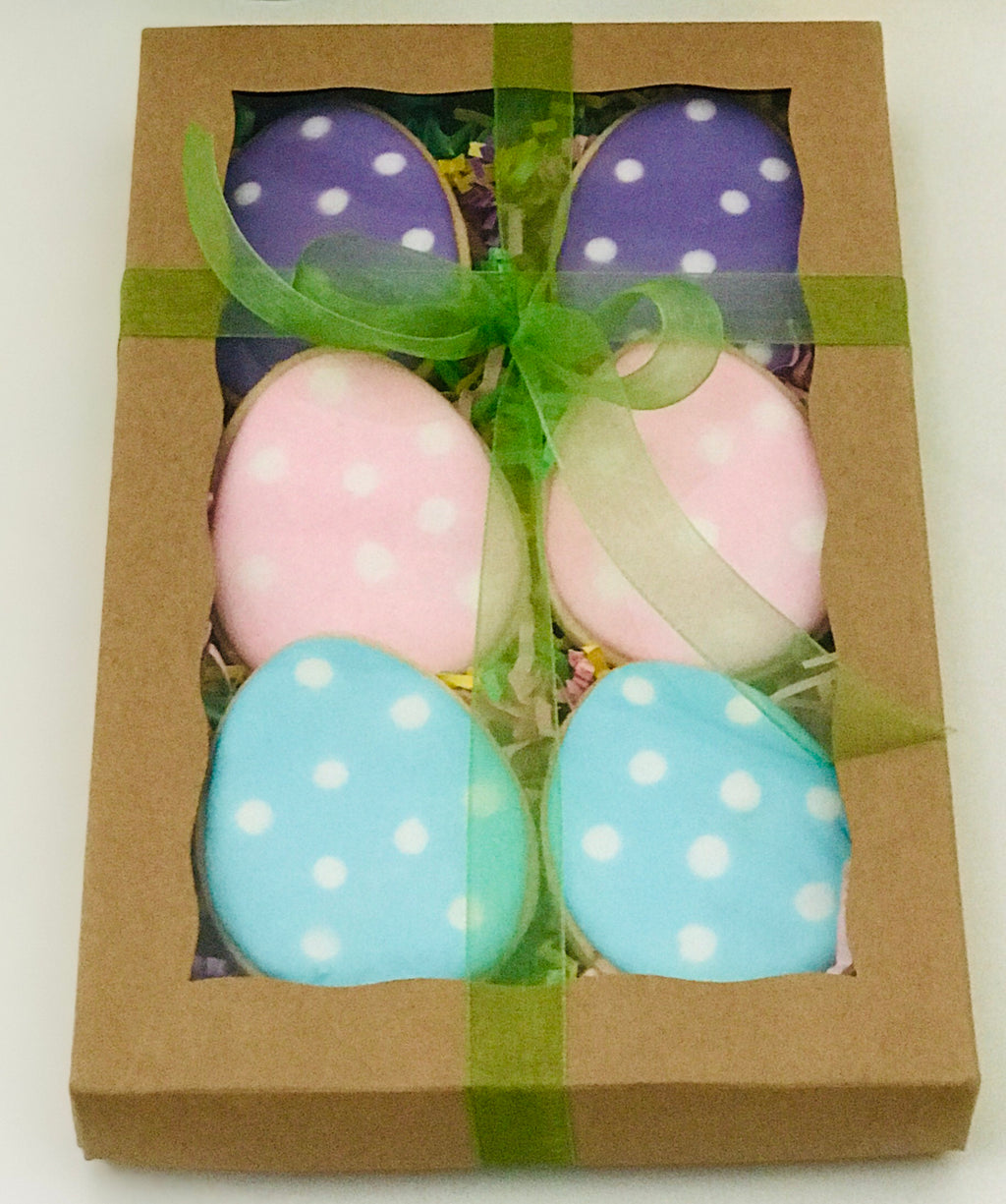 EASTER EGG COOKIE BOX - Small