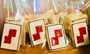COOKIE FAVORS GAMES/DICE