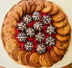 HOLIDAY GOURMET PLATTER SNOWFLAKES