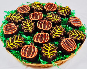 FALL GOURMET BROWNIE PLATTER