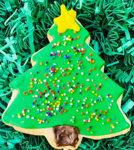 CHRISTMAS TREE COOKIE FAVOR