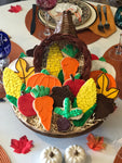 THANKSGIVING CORNUCOPIA PLATTER