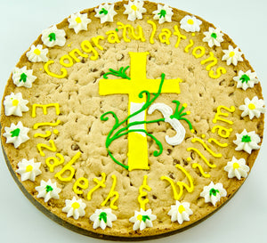 COOKIE CAKE RELIGIOUS CROSS