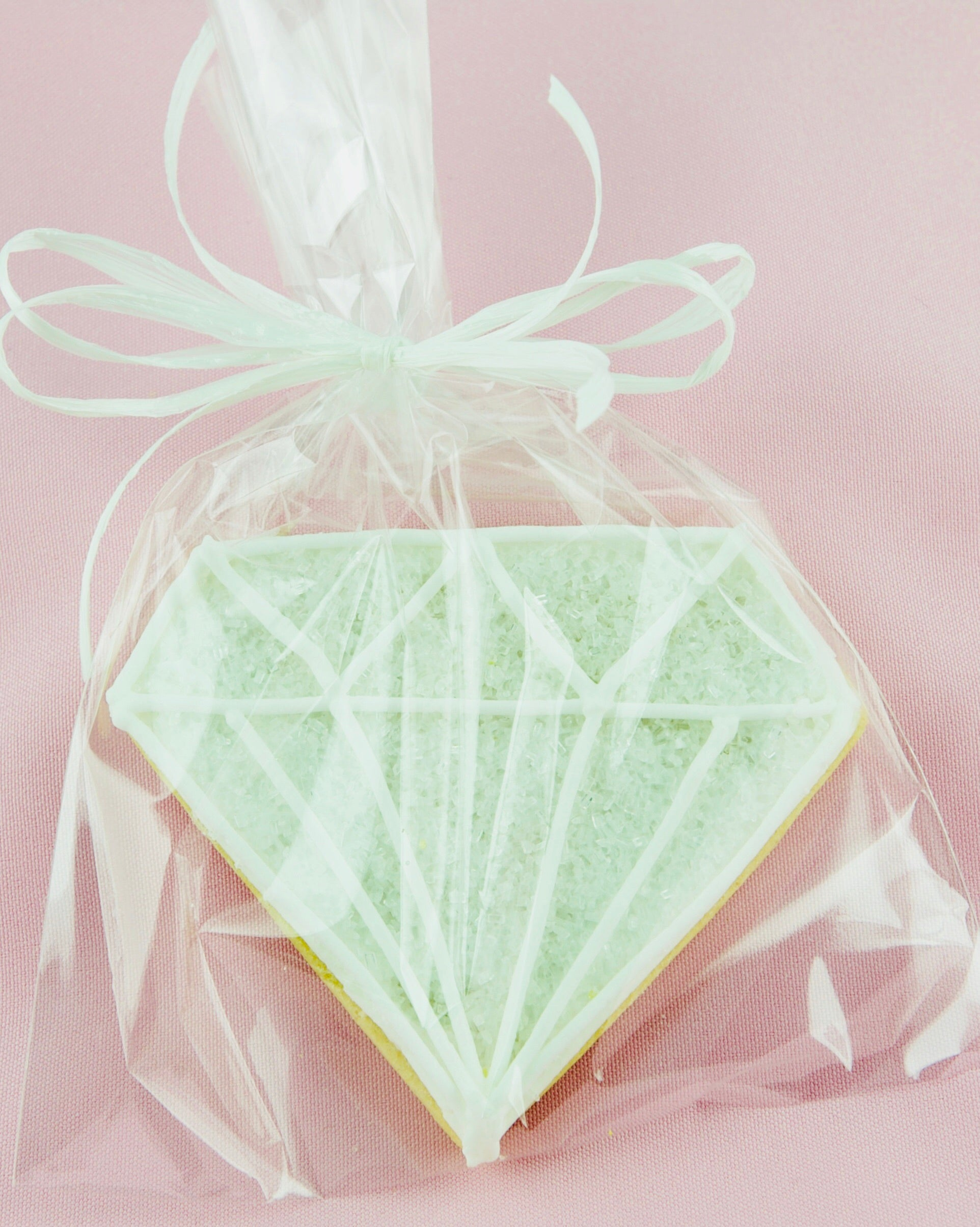 COOKIE FAVORS WEDDING/DIAMOND