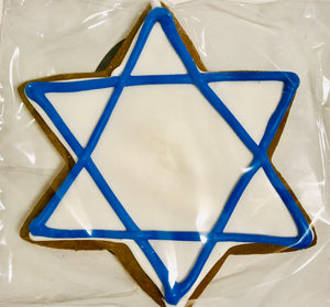 JEWISH STAR COOKIE FAVOR KIOSK