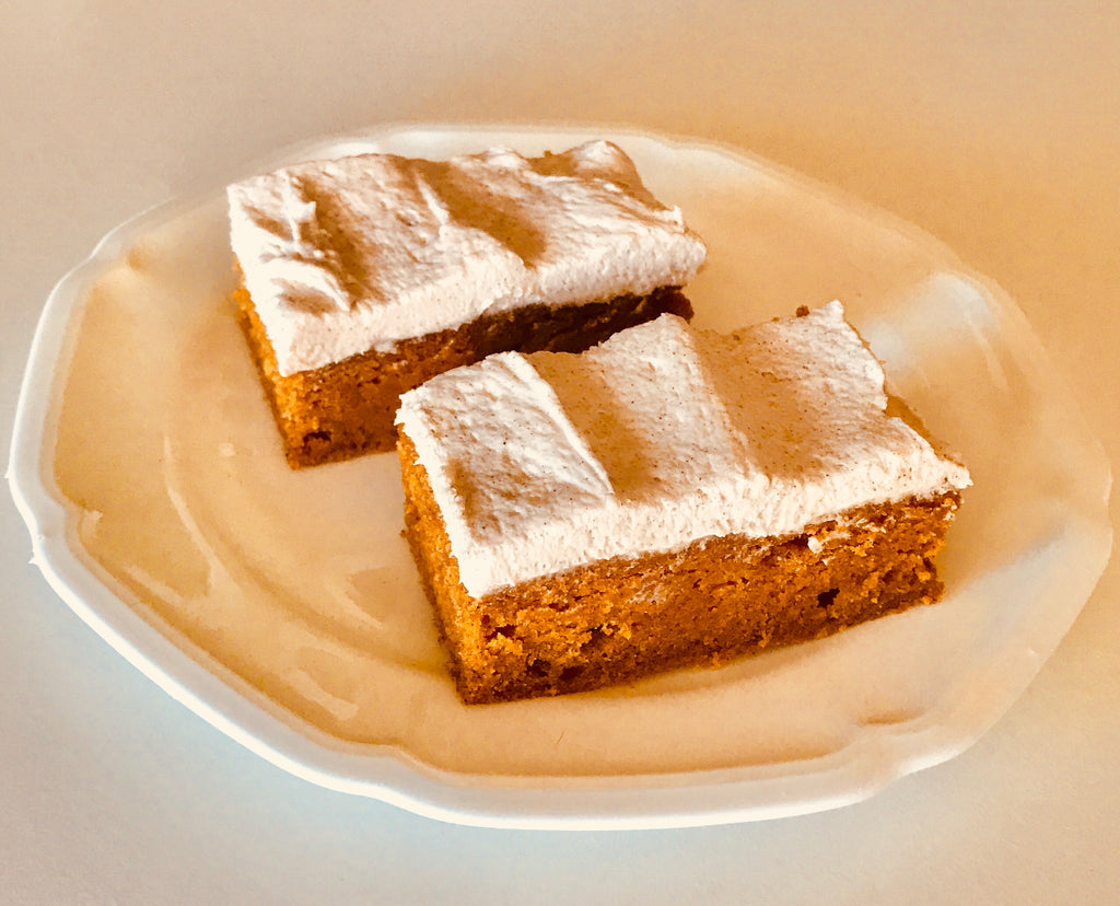 FALL GOURMET PUMPKIN BARS