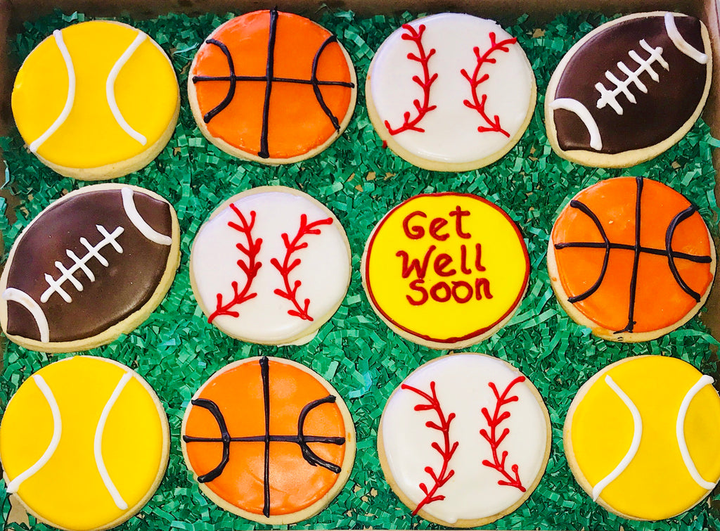 COOKIE BOX GET WELL SPORTS