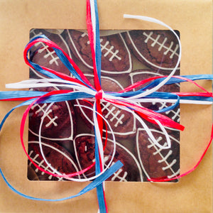 GOURMET BROWNIES SPORTS FOOTBALL