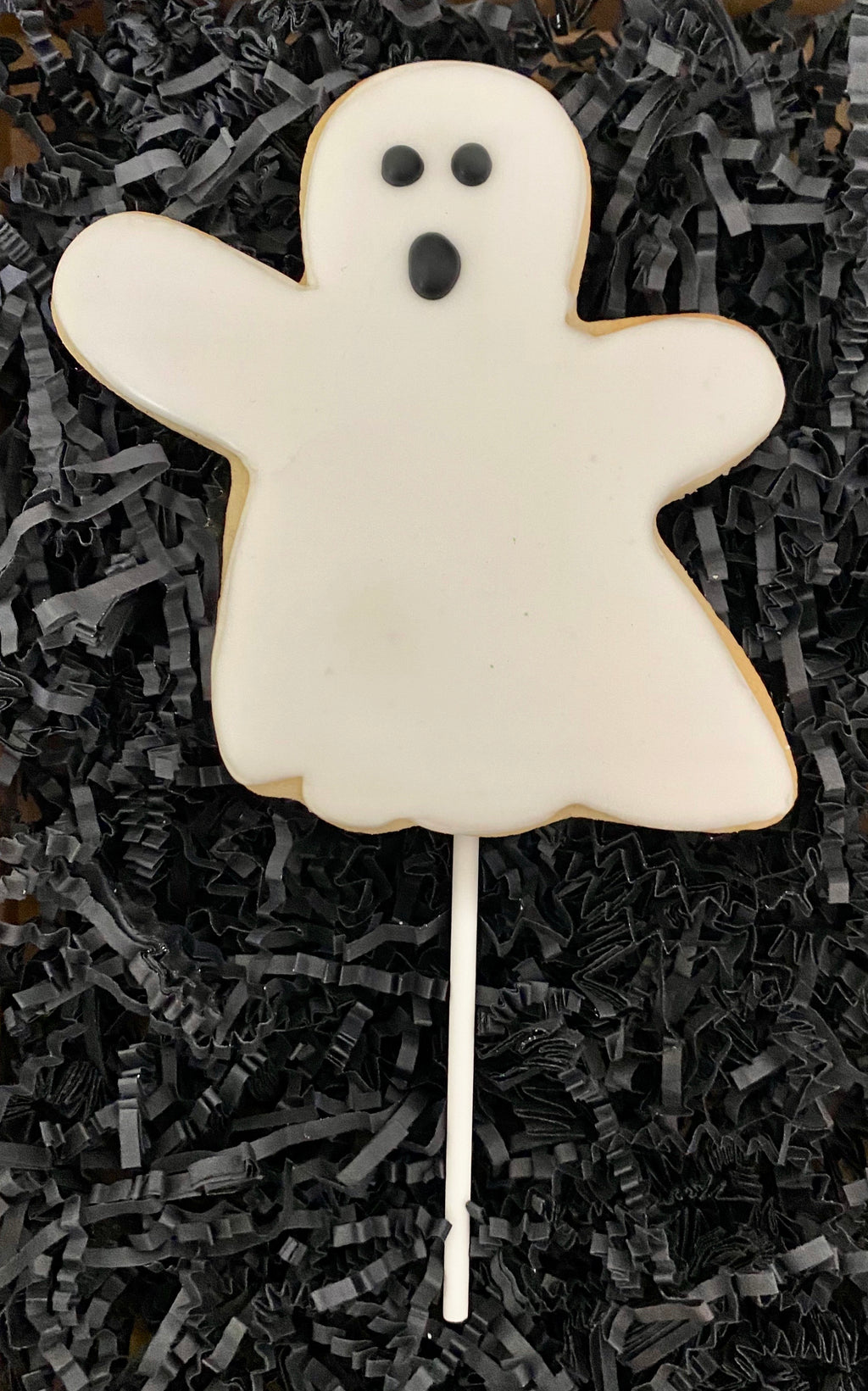 HALLOWEEN GHOST COOKIE POPS