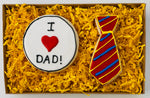 FATHER'S DAY TIE COOKIE GIFT BOX