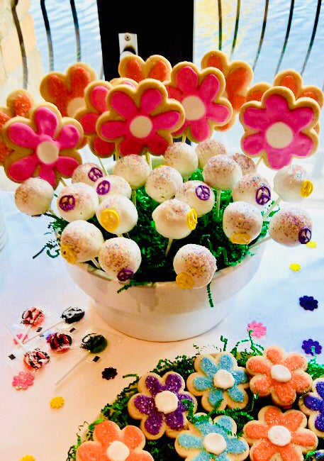 DESSERT BAR FLOWER POWER