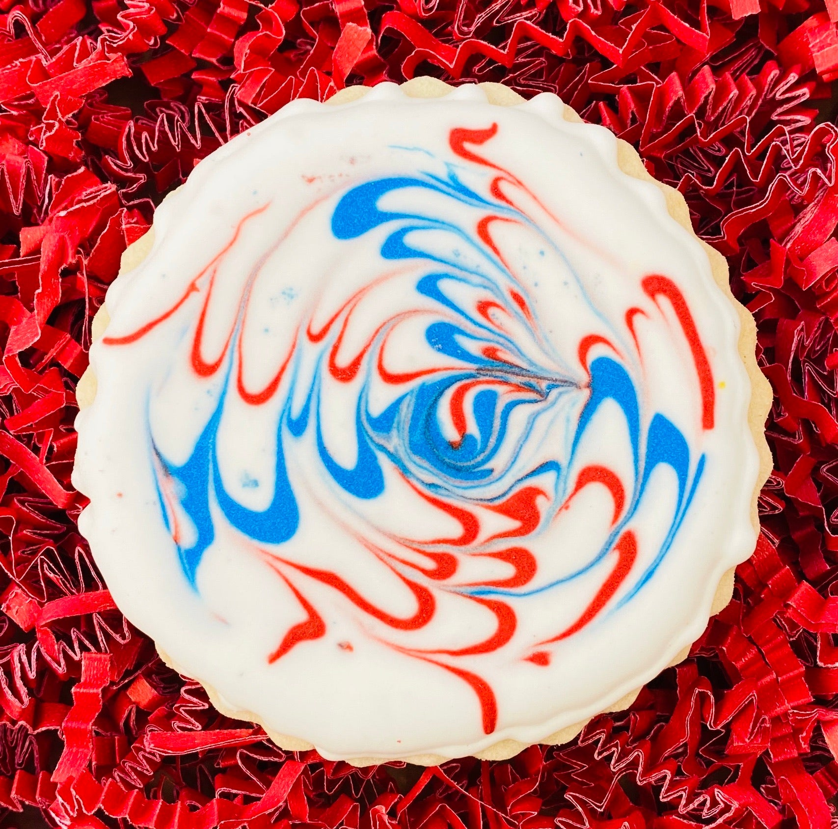 PATRIOTIC FIREWORKS COOKIE FAVORS