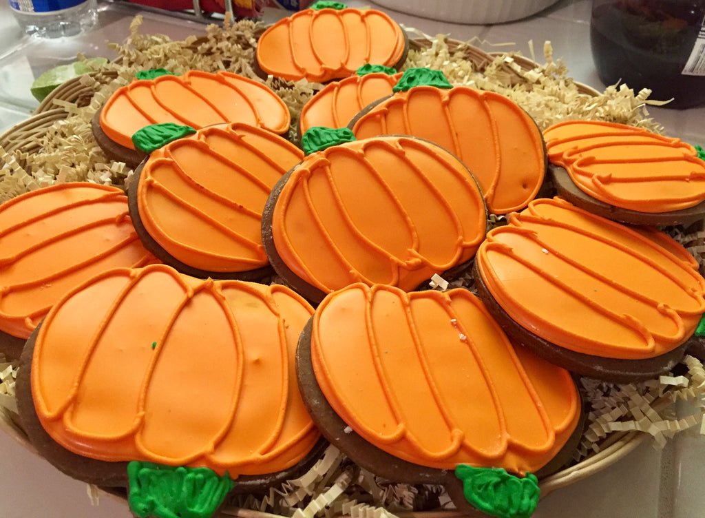 THANKSGIVING PUMPKIN COOKIE PLATTER