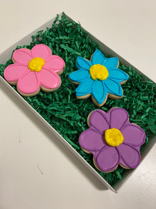 Mother's Day Flower Cookie Gift Box