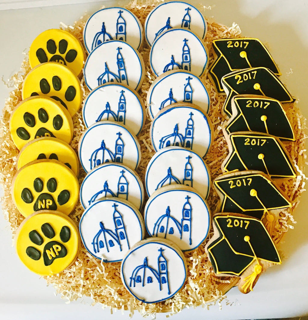 COLLEGE/SCHOOL COOKIE PLATTER