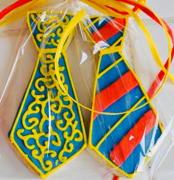 COOKIE FAVORS TIES