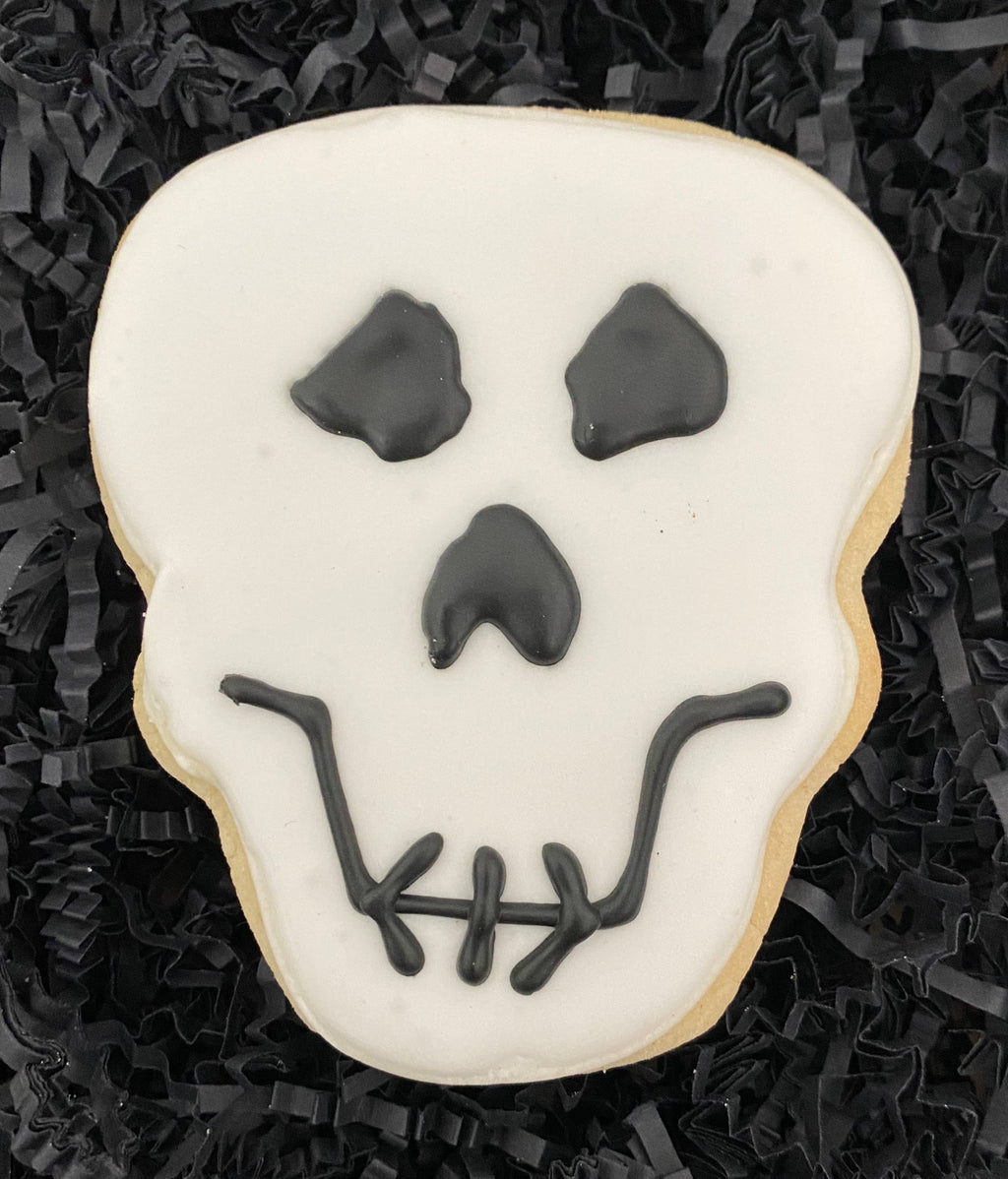 HALLOWEEN SILLY SKULL COOKIE FAVORS