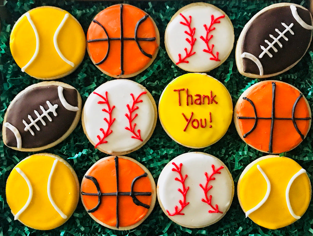 THANK YOU SPORTS DELUXE COOKIE GIFT BOX
