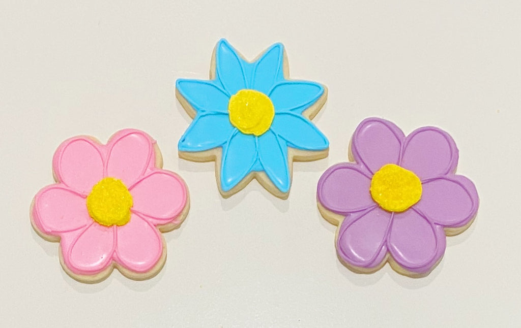 EASTER FLOWER COOKIE FAVORS
