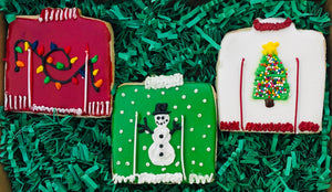UGLY SWEATER COOKIE GIFT BOX