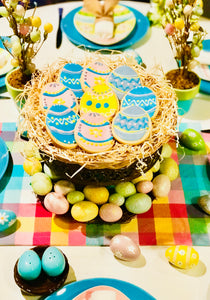EASTER EGG NEST PLATTER
