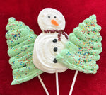 HOLIDAY MERINGUE LOLLIPOP