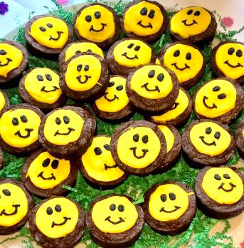 GOURMET BROWNIES SMILEYS