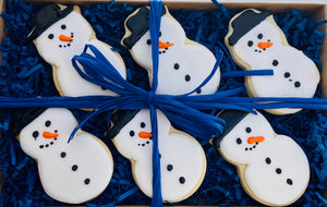 SNOWMAN SUGAR COOKIE GIFT BOX