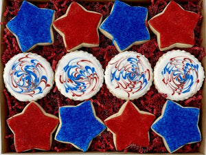 MEMORIAL DAY FIREWORKS DELUXE COOKIE GIFT BOX