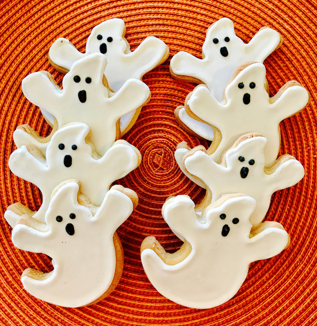 HALLOWEEN SPOOKY GHOSTS COOKIE GIFT BOX
