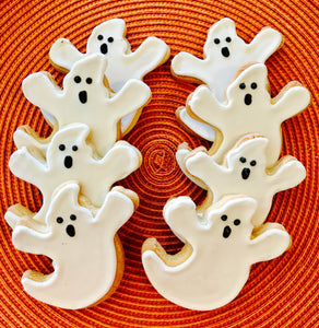 COOKIE BOX HALLOWEEN GHOSTS