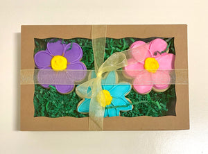 EASTER FLOWER COOKIE BOX